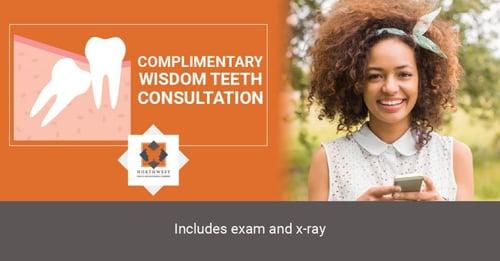 free wisdom teeth consultation